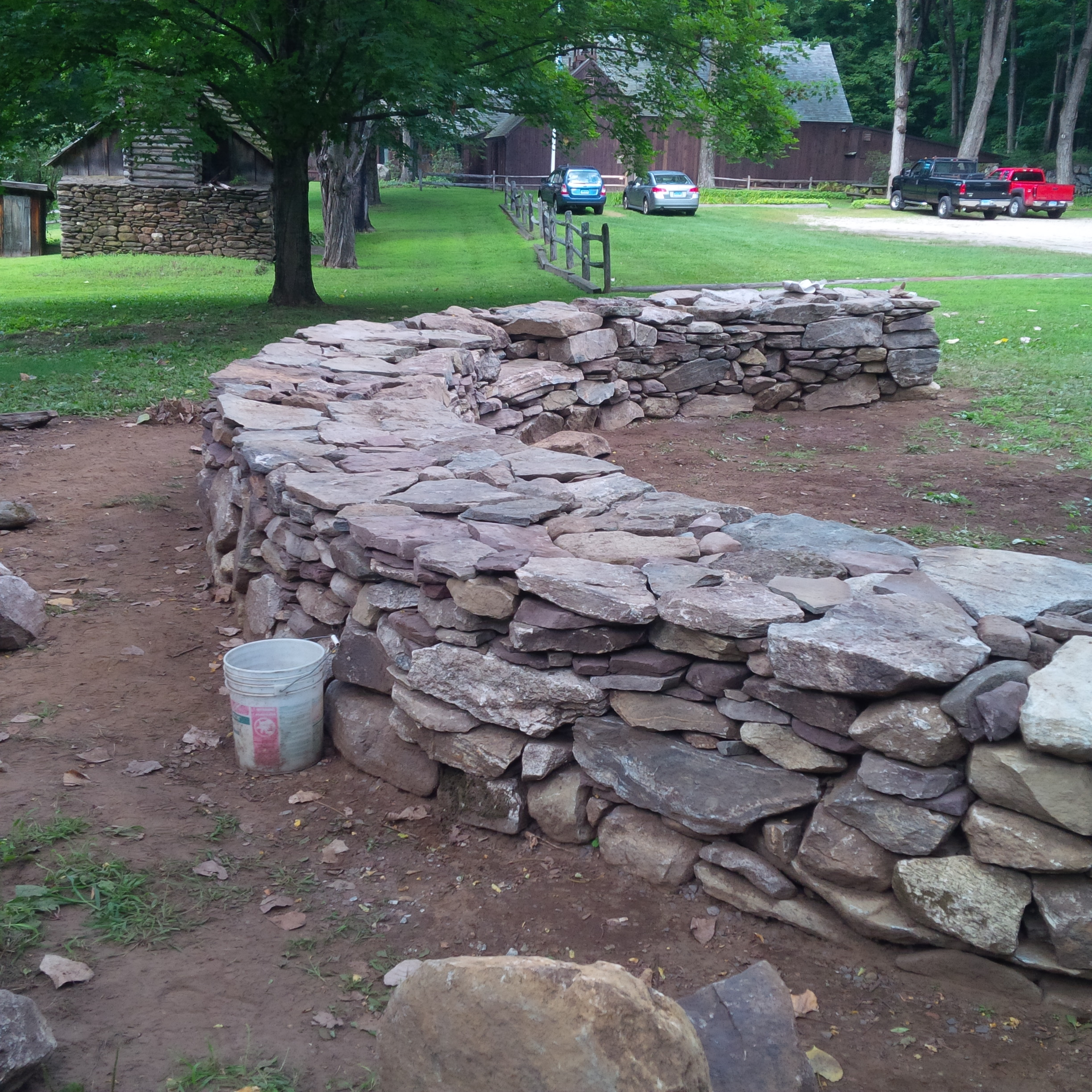 Eric Sloane And The Art Of Dry Laid Stone Wall
