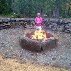 edith at firepit