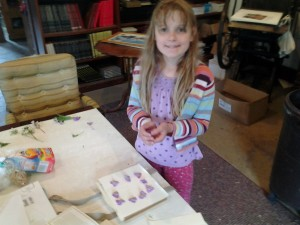 edith card making