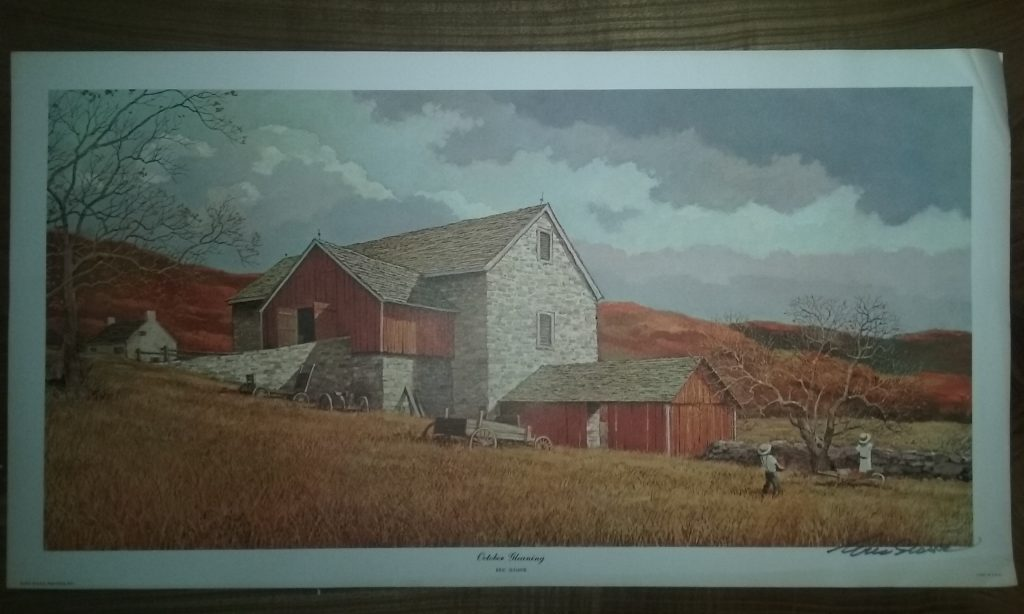 how to tell if an eric sloane painting is real or a print eric sloane